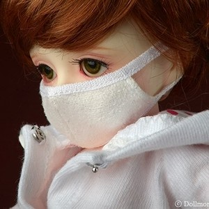 [USD] Ahchoo Mask (White)