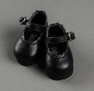 [USD] Lolo Cut Shoes (Black)