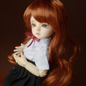 "[6-7""] Melrose Long Bang Wig (Carrot)"