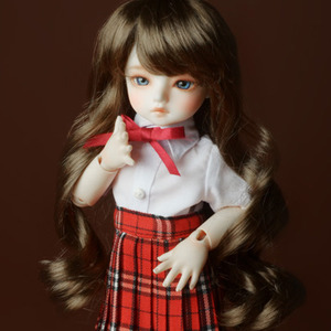 "[6-7""] Melrose Long Bang Wig (Brown)"
