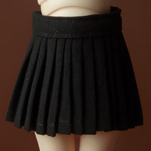 [USD] Byshu Pleated Skirt (Black)