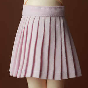 [USD] Byshu Pleated Skirt (Pink)