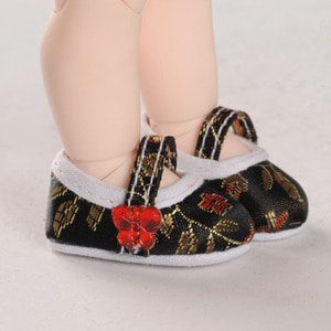 [USD] Oriental Band Shoes (Black)