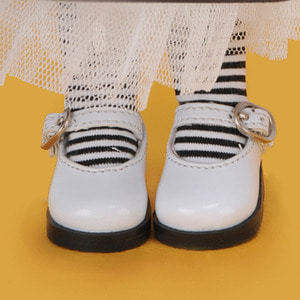 [USD] Basic Girl Shoes (White Enamel) [K8] Last