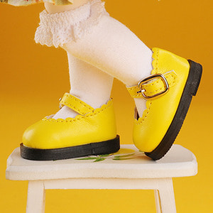 [USD] Lolo Cut Shoes (Yellow)