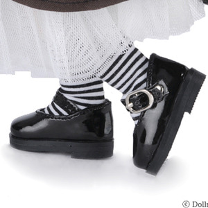 [USD] Basic Girl Shoes (Black Enamel) [K8]