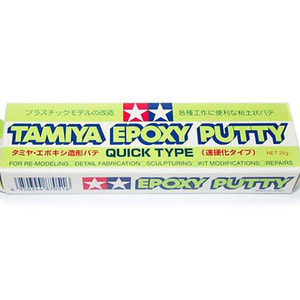 Tamiya Epoxy putty (속경화타입/25g)