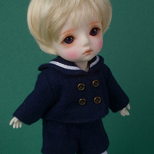 [Bebe Doll] TY kindergarten Uniform Set (Boy/Navy)