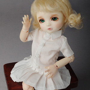 [USD] Elise Dress (White)[K7]