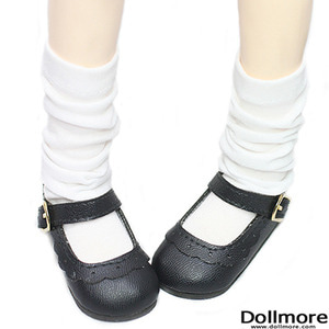 [MSD] Loose Socks (White)