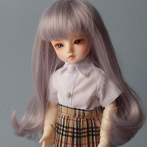 "[6-7""] Hailey Curl Wig (VL..Gray)"