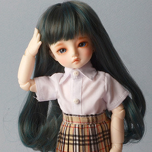 "[6-7""] Hailey Curl Wig (GD.Gray)"