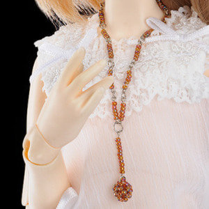 All Size - Ethnic Brown Necklace