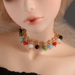MSD & SD Size - Enara Necklace (Gold)