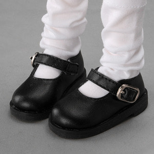[MSD] Basic Girl Shoes (Black)