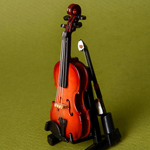 Small Size - Wooden Violin (8cm)