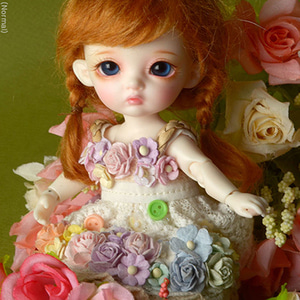 [Bebe Doll] Sodara Flowers Dress (Beige)