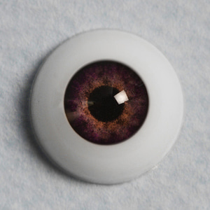 [12mm] Optical Half Round Acrylic Eyes (MA-08)