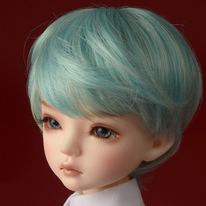 "[7-8""] Zeke Short Cut Wig (Blue)"