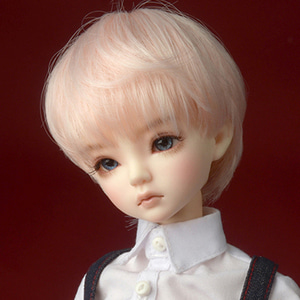 "[7-8""] Zeke Short Cut Wig (Pink)"