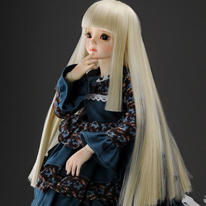"[7-8""] Cleopatra Long Wig (L.Blonde)"