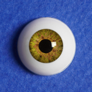 [14mm] Optical Half Round Acrylic Eyes (MA13)