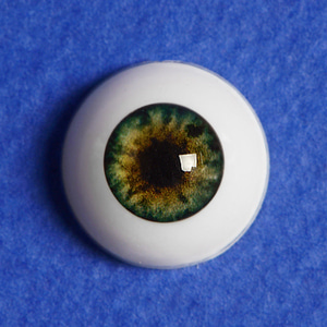 [14mm] Optical Half Round Acrylic Eyes (CC04)