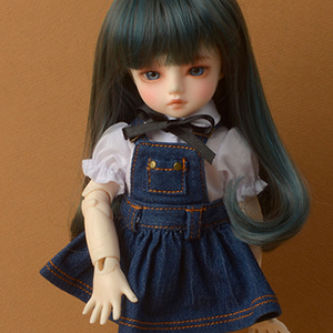 [USD] Mayya Overalls Skirt (Blue)