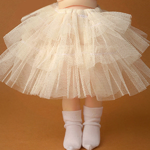 [USD] 3 Swan Skirt (Beige)