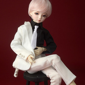 [MSD] LKT Slim Suit Set (White)