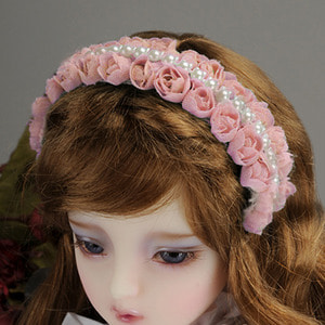 MSD & SD - RRS Rose Hairband (419)