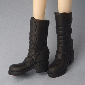 [12inch] GG Long Boots (Black)