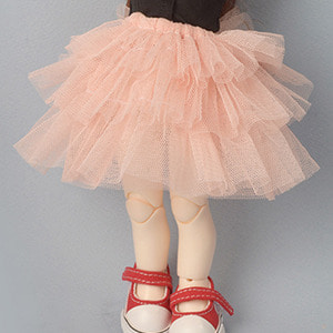 [USD] 3 Swan Skirt (Coral)
