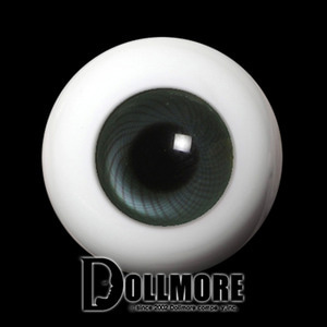 [14mm] Solid Glass Doll Eyes - PW17(B)