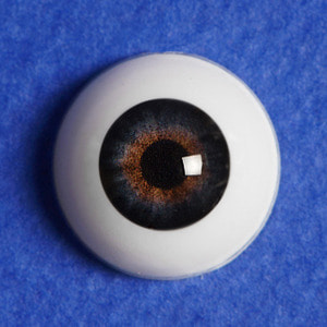 [12mm] Optical Half Round Acrylic Eyes (MB02)