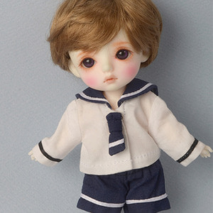 [Bebe Doll.휴쥬베이비] Travel by Sailor Boy set (W/Navy)