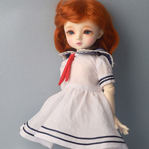 [USD] Cloud Sailor Dress (White)