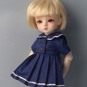 [USD] Azure Sailor Dress (Navy)