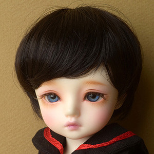 "[6-7""] Zeke Short Cut Wig (Black)"