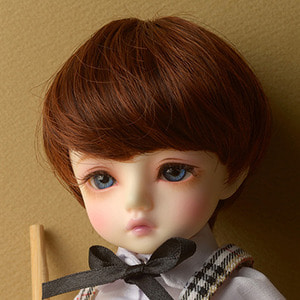 "[6-7""] Zeke Short Cut Wig (Brown)"