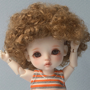 "[5""] Boguri Wig (Brown)"