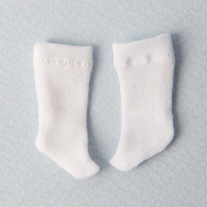 [Bebe Doll.휴쥬베이비] Meme Socks (White)
