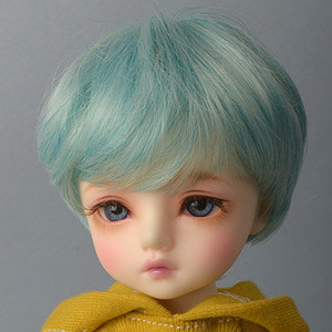 "[6-7""] Zeke Short Cut Wig (Blue)"