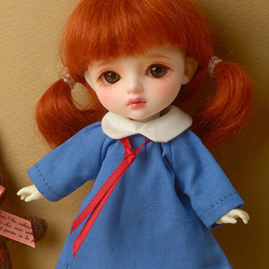 [Bebe Doll.휴쥬베이비] UP kindergarten Dress (Blue)