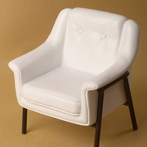 1/6 Scale USD Size Modern Chair (White)