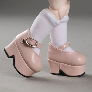 [45mm] USD.Dear Doll Size - Platform Basic Girl Shoes (Pink)