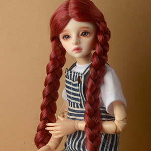 "[7-8""] Shirley Pgtail Wig (W.Brown)"