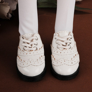 [74mm] MSD Size - Mushinun Shoes (Cream)