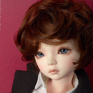 "[7-8""] Macaroon Short Cut Wig (D.Brown)"