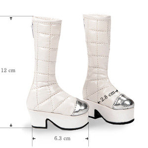 [70mm] MSD - Chio Boots (White)[C1]